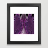 Framed Art Print featuring Topological Expression by David  Gough