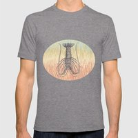 Lobster  ~ The Summer Se… Mens Fitted Tee Tri-Grey SMALL