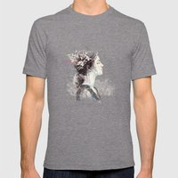 Prague (3) Mens Fitted Tee Tri-Grey SMALL