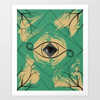 In The Eye Of The Behold… Art Print