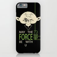 Starwars Yoda - May The Force Be With U iPhone 6 Slim Case