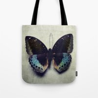 Vintage Butterfly 4 Tote Bag