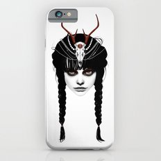 Wakeful Warrior - In Red iPhone 6 Slim Case