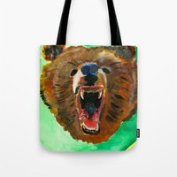 This is a bear Tote Bag