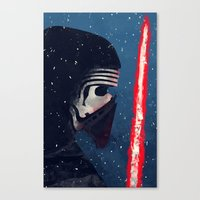 Kylo (Knight of Ren) Canvas Print