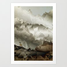 The Fortress Art Print