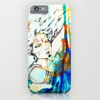 iPhone & iPod Case featuring Tribal Beauty 4 by Katya Zorin