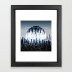 Woods 4 Framed Art Print