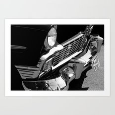 Reflections of the past  Art Print