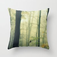 Let the Silence Take Me Throw Pillow