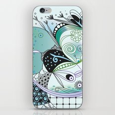 Winter tangle iPhone & iPod Skin