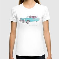 The See Us Rollin' Womens Fitted Tee White SMALL