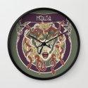 foolish medusa (green) Wall Clock