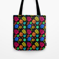 Day of the Dead Pattern Tote Bag