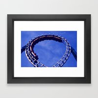 Thrillseekers Framed Art Print