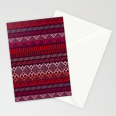 Weave (brown) Stationery Cards