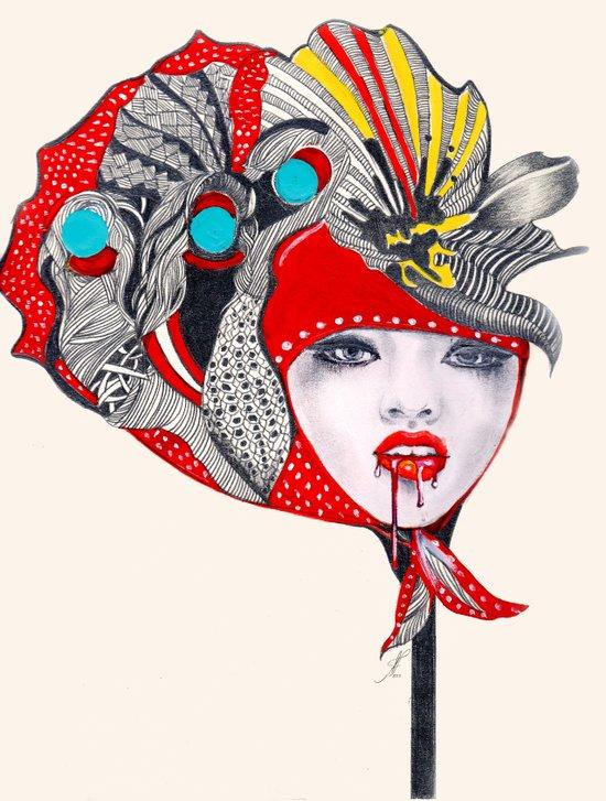 I Believe in Beauty 2  Art Print