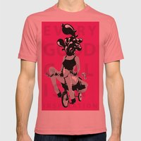 Every Good Girl is A Inspiration  Mens Fitted Tee Pomegranate SMALL
