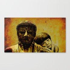 buddha girl Canvas Print