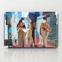 Flieger 2 Collage iPad Case