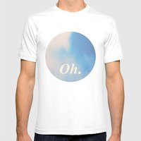 Oh. Lightness Mens Fitted Tee White SMALL