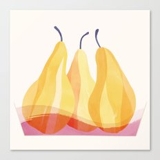 Baked Pears | 100 Days of Cookbook Spots Canvas Print