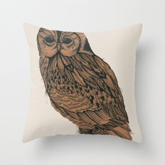 Heaton Owl Throw Pillow