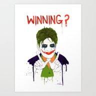 The New Joker? Art Print