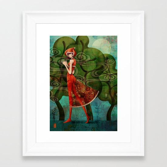 Pepper Moonlight Framed Art Print