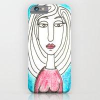 Blue Girl iPhone 6 Slim Case