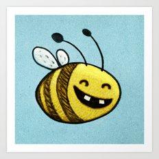 Bee 2 Art Print