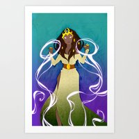 the Sorceress Art Print