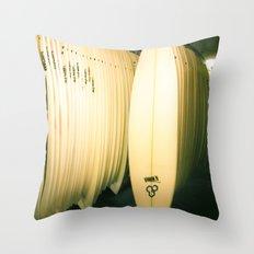 Surf Co Throw Pillow