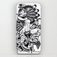 Diamonds iPhone & iPod Skin