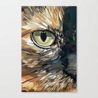 Stevie Cat Canvas Print