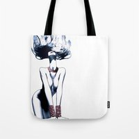 Red Jewelry Tote Bag