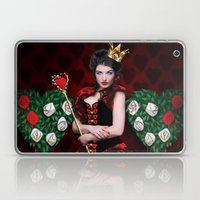 Painting The Roses Red Laptop & iPad Skin