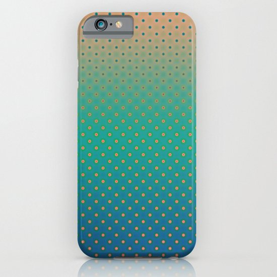 Polka Plankton Blue iPhone & iPod Case
