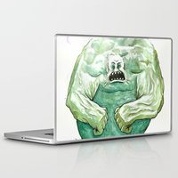 hulk Laptop & iPad Skins featuring Hulk by Crooked Octopus