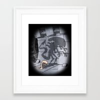 Lunch! Framed Art Print