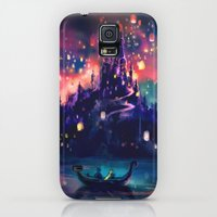 Galaxy S5 Cases featuring The Lights by Alice X. Zhang