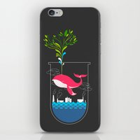 Nature Whale iPhone & iPod Skin