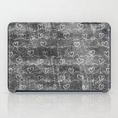 Heart Wave Metallic iPad Case