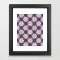 PAISLEYSCOPE Posh (purpl… Framed Art Print