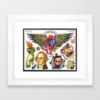 Liberty Flash Framed Art Print
