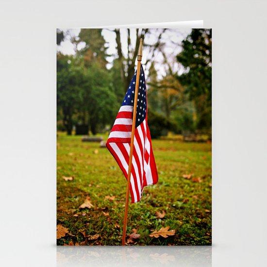 American symbolism Stationery Card