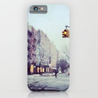 First Snow In The City iPhone 6 Slim Case