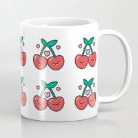 Cherry Pattern Mug