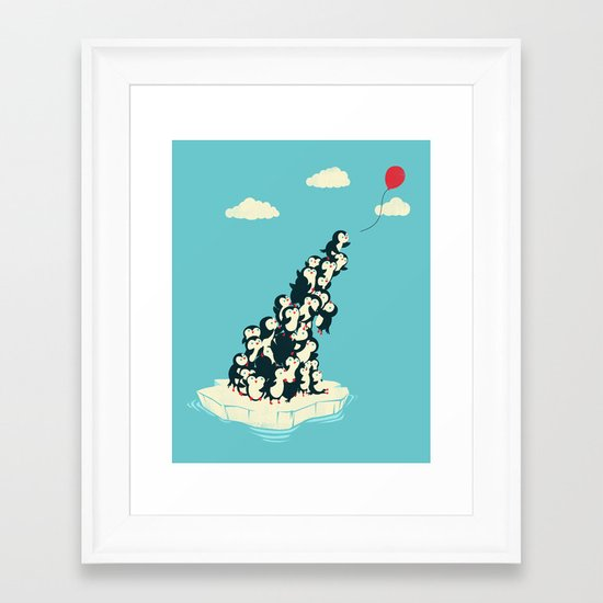 Balloon! Framed Art Print