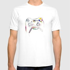 360 Mens Fitted Tee SMALL White